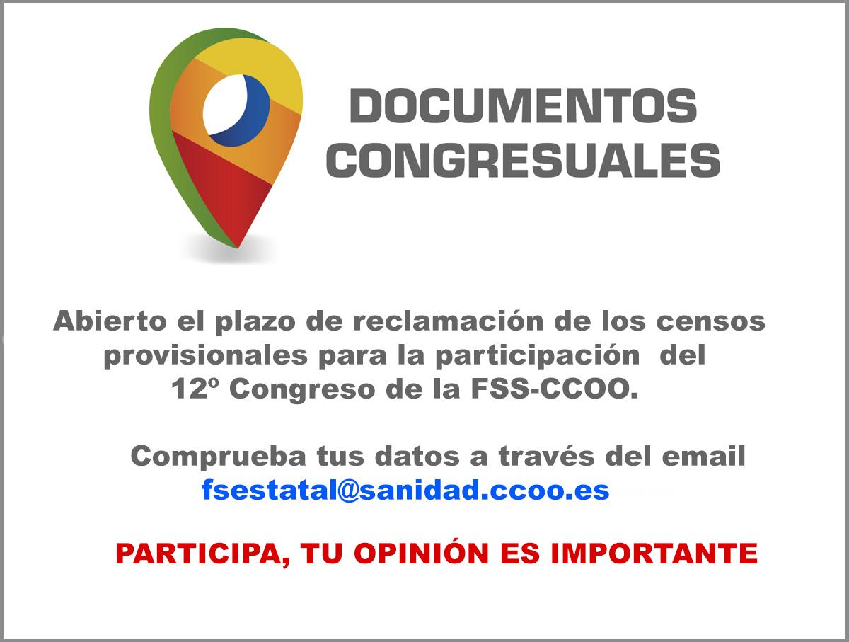 Censos documentos congresuales