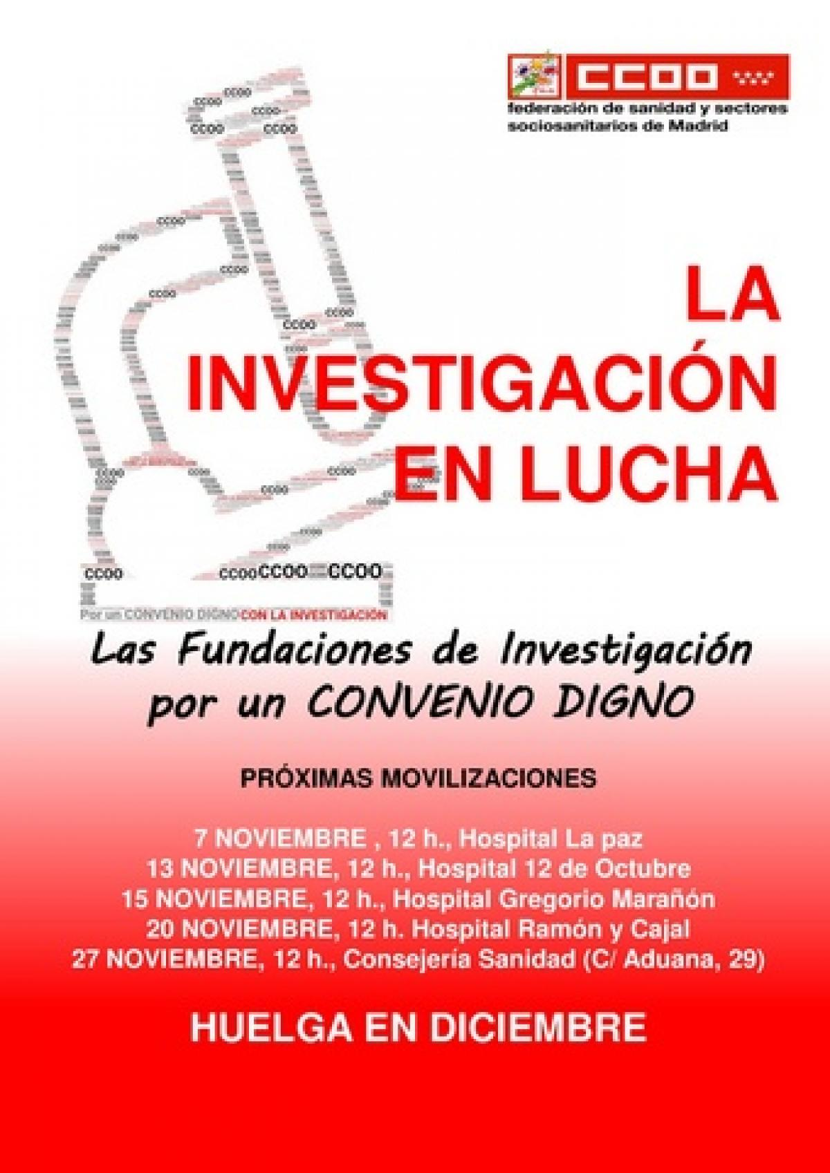 Cartel movilizaciones.