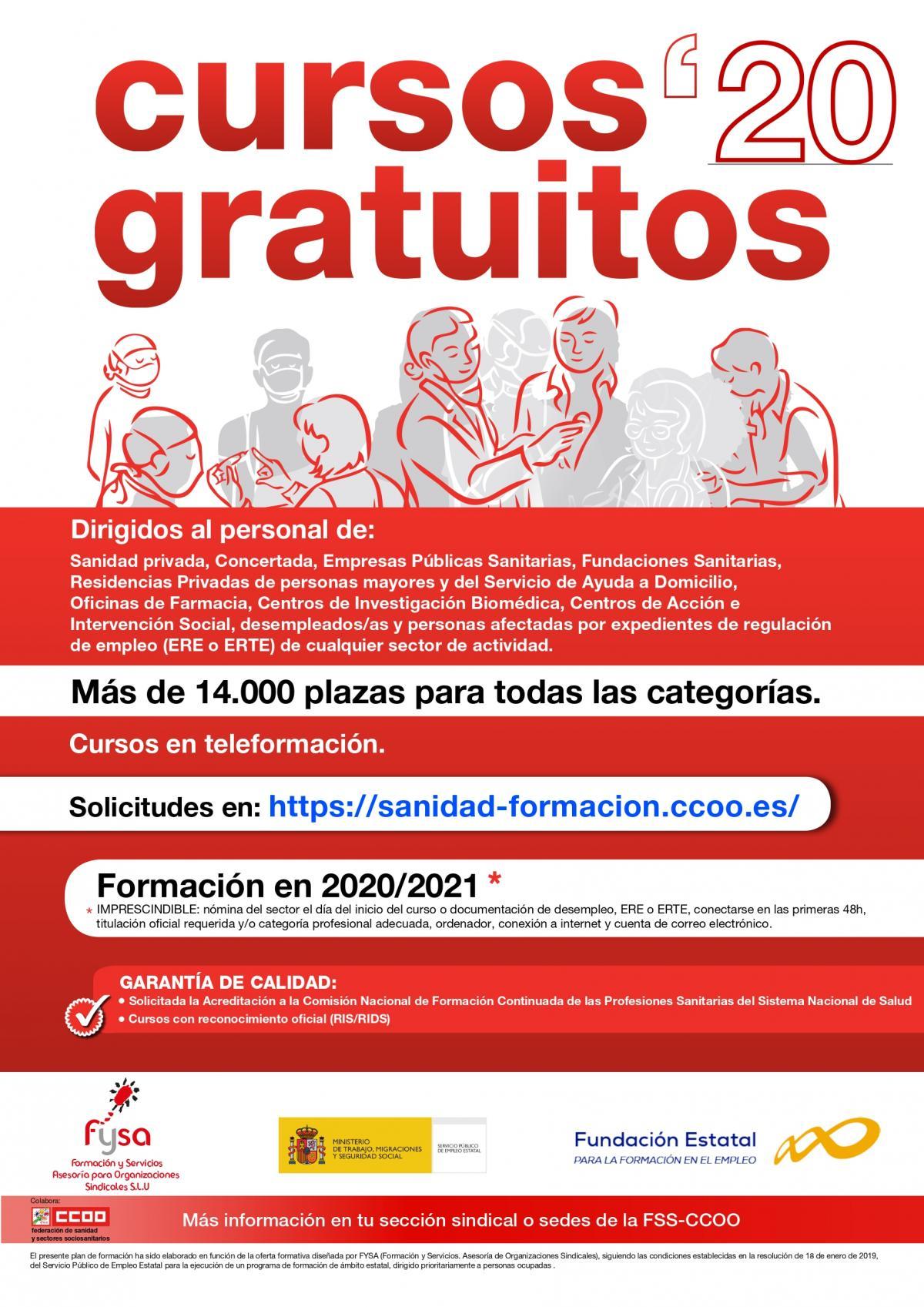 Federacion De Sanidad Y Sectores Sociosanitarios De Ccoo Castilla Y Leon Formacion